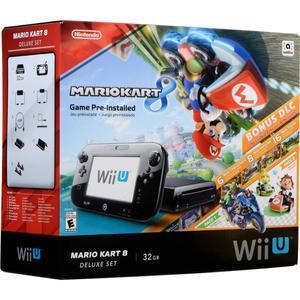 Consola Nintendo Wiiu 32 Gb Edicion Mario Kart 8 Deluxe Set