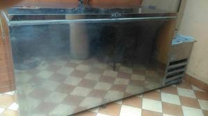 Refrigerador Congelador, Acero Inoxidabl