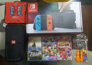 Super Pack- Nintendo Switch - Full Equipado