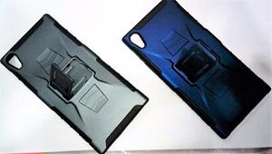 Case Protector Con Parante Para Sony Xperia Xa1 Ultra