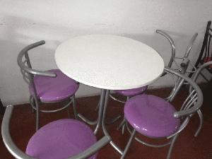 Juego de comedor muebles villa comedores posot class for Mesa comedor mas sillas