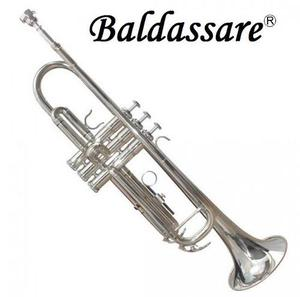 Trompeta Plateada Baldassare Silver Plata Estuche Accesorios