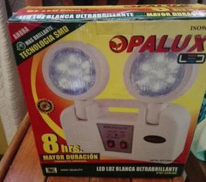opalux 8 horas, luces de emergencia