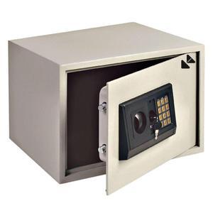 Caja fuerte 16.3 Lt con teclado DIGITAL y llave electrónica