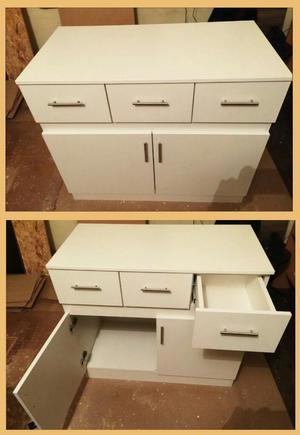 Muebles de cocina altos y bajos en melamine posot class for Muebles bajos de cocina