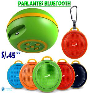 Parlantes Bluetooth Genius