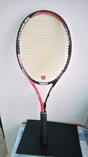 Raqueta Tenis Wilson Blk Six.one Team
