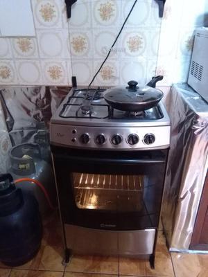 Vendo Cocina A Gas De 4 Hornillas Con Horno Posot Class
