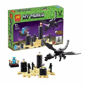 ENDER DRAGON MINECRAFT ENDERDRAGON ARMABLE 634 PIEZAS SET