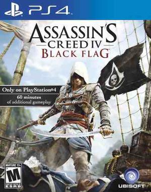 Assassins Creed Iv Black Flag - Juego Ps4 Digital