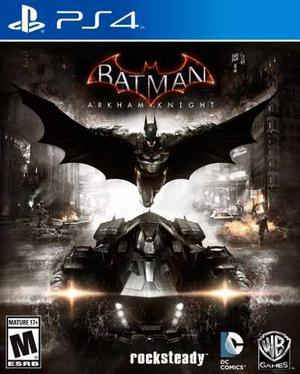 Batman: Arkham Knight - Juego Ps4 Digital