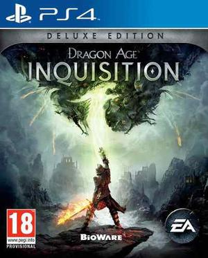 Dragon Age: Inquisition Deluxe Edition - Juego Ps4 Digital