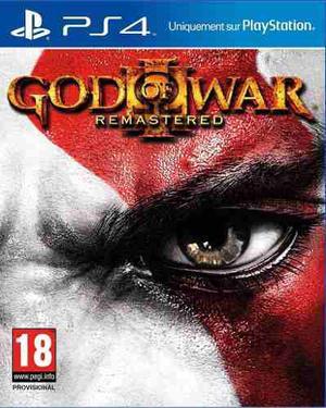 God Of War Iii Remastered - Juego Ps4 Digital