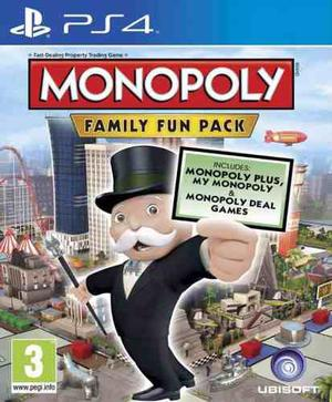 Monopoly Family Fun Pack - Juego Ps4 Digital