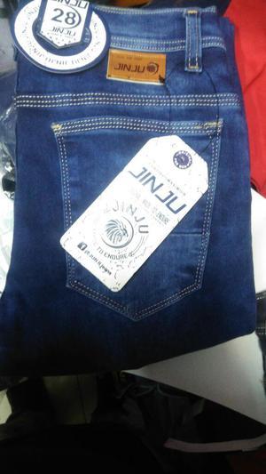 Pantalon Jean Pitillo Strech Hombre Moda