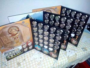 Coleccion de Monedas Riquezas Y Orgullo
