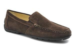 Zapatos mocasín GEOX cuero gamuza talla 40 NUEVOS no tommy