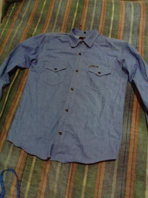 Camisa Diamond Slim Fit Talla S Denim