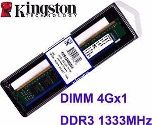 Memoria Ram 4gb Ddr3 Kingston mhz Pc Para Pc