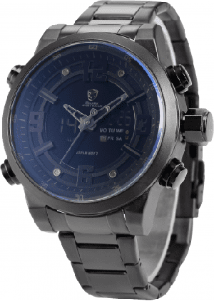 Reloj Shark Basking 2 color negro