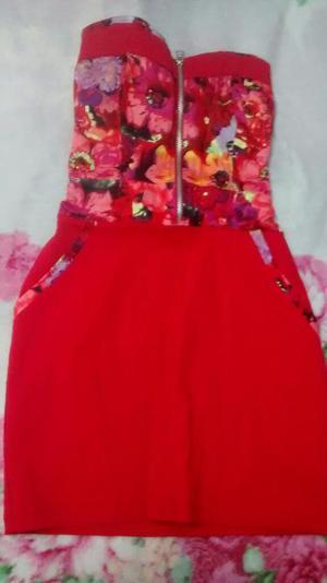 Vestido Rojo Alejandra Baigorria