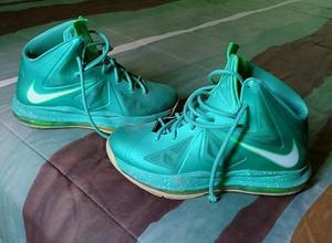 Zapatillas de Basquet Verdes Nike