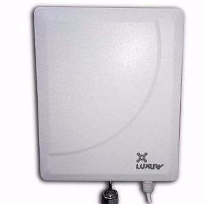 Antena Wifi 17 Dbi Con 10 M De Cable, Hasta 3 Km Alcance