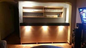Vendo bar de melamine claro tiene puertas posot class for Vendo bar de madera