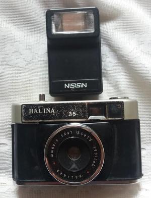 Camara fotográfica Antigua Halina 35