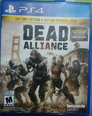 Juego Dead Alliance Ps4