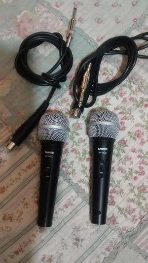 Micrófonos Marca Shure Sv 100c