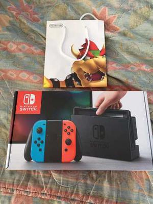 Nintendo Switch Joy-con Neon Blue & Red Nuevo Y Sellado