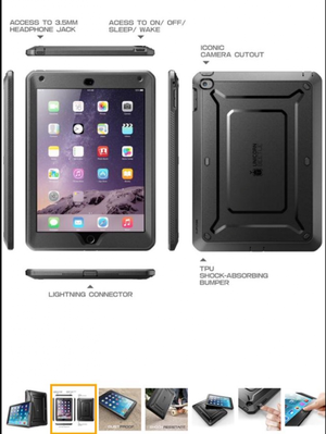 Protector. iPad Air 2 Case. Original solo para gente