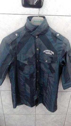 Camisa Rextone con Capucha Talla S