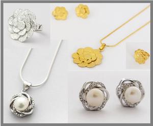 Joyas de plata  Y oro. Tenemos anillos, aretes,