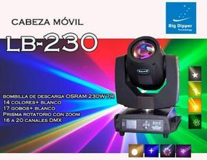 Cabeza Movil Beam 230w 7r Dmx Luces