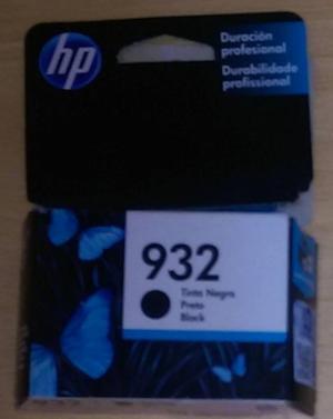 Cartucho De Tinta Hp 932 Color Negro