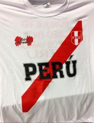 Polos Peru Cuello Redondo Talla M Precio por Mayor 25 Soles