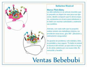 Saltarina Musical De Estimulación Para Bebé !!!