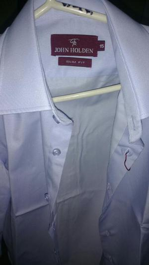 Camisa Jhon Holden Slim Fit Talla 15