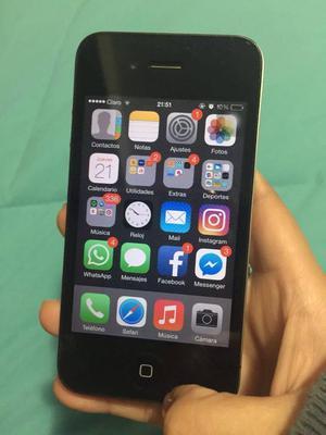 IPHONE 4S DE 16 GB LIBRE PARA TODO OPERADOR