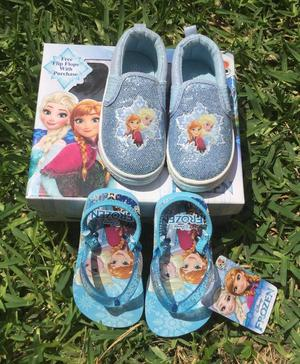 Pack Zapatillas Frozen