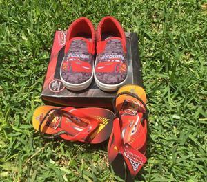 Pack de Zapatos Cars Marca Disney