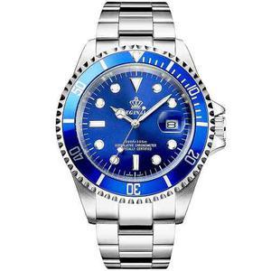 Reloj Elegante De Lujo Acero Inoxidable Hombre Reginald
