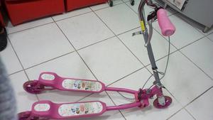 Remato Bicicleta Y Scooter para Niña