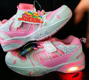 Zapatillas Nuevas C.luces Bubble Gummers