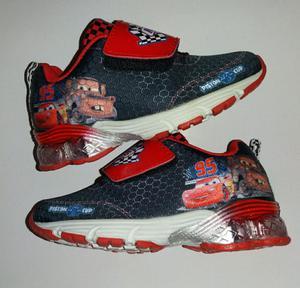 Zapatillas Nuevas Cars Disney T24