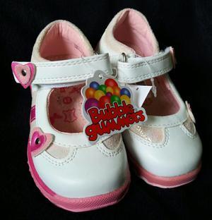 Zapatos Nuevos Cuero Bubble Gummers T21