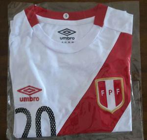 Camiseta Seleccion Peruana Replica De Mejor Calidad Umbro