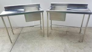 Vendo lavadero de acero posot class for Lavadero acero inox